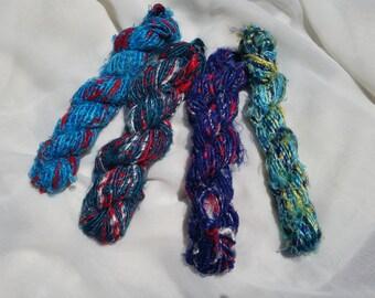 Banana Silk yarn - Art Yarn - super shiny