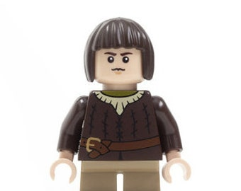 Lady Orphanboy of House Alldead - Custom Figure made from Genuine LEGO Minifigure Elements