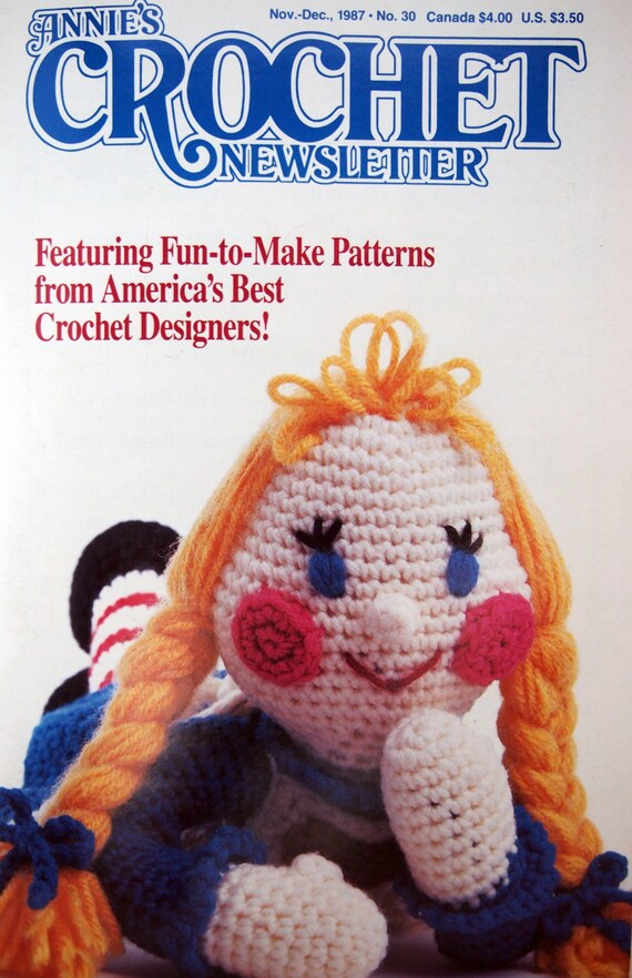 Annies Crochet Newsletter No. 30 By Annies Attic by NeedANeedle