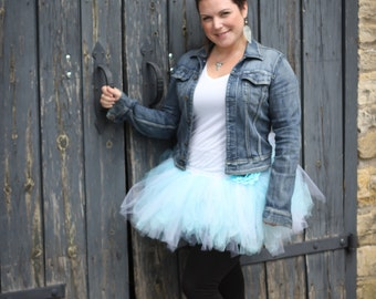 Running Tutu - Race Tutu - Adult Tutu - Baby Blue Tutu - bachelorette Tutu - Marathon Tutu - 5K Tutu - Light Blue Tutu - Fun Run Tutu