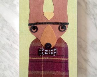 PHILIP the kangoo, Wallpeople Eco Portraits, cm 20 x 30