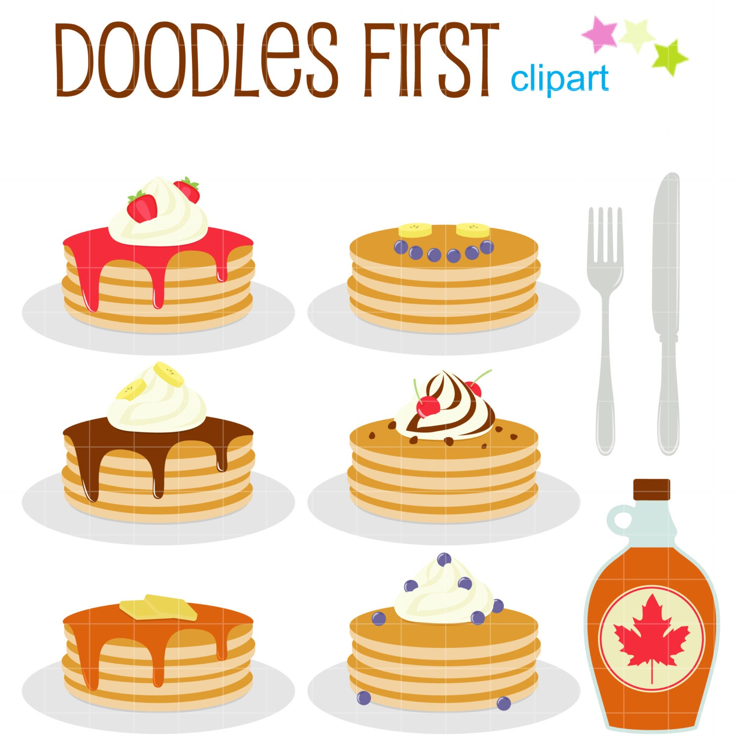Clip Art Pancake Clipart pancake clipart etsy party clip art for scrapbooking card making cupcake toppers paper crafts