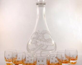 Dragon Ball liquor with 7 balls (shots)
