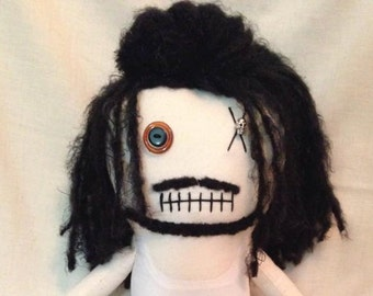 "Creepy n Cute Zombie Doll - ""Tomas"" - Inspired by TWD (P)"