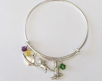 Toy Story Inspired Bracelet. Disney Bangle.