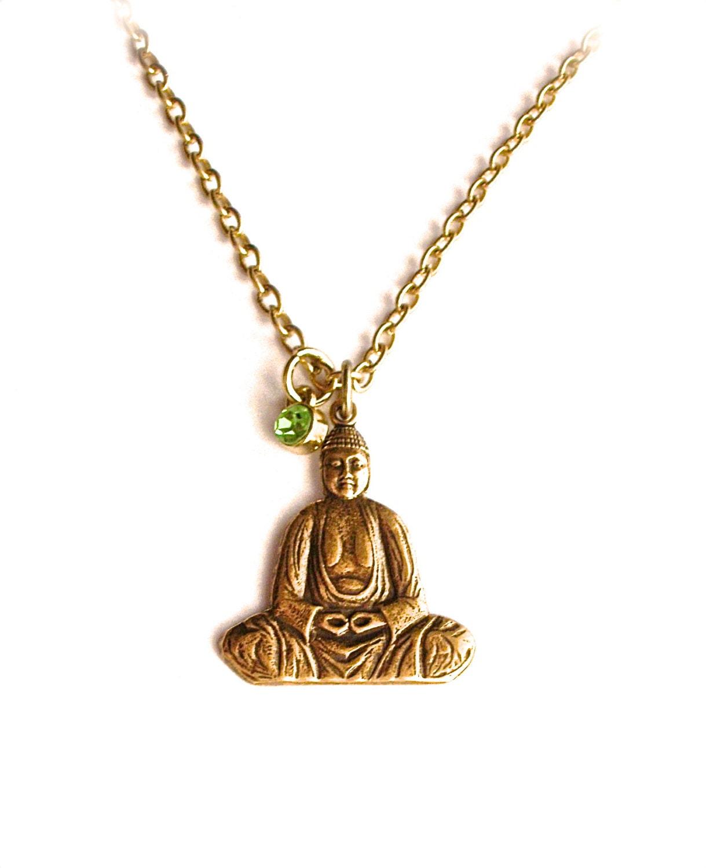 buddha spiritual jewelry necklace buddha necklace