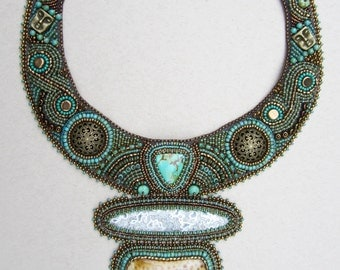 Turquoise & Old Gold