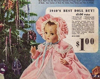 Sears Christmas Catalog 1940 Pdf download of full catalog 145 pages with loads of great pictures