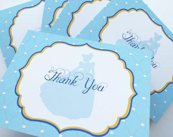 Cinderella Thank You Cards
