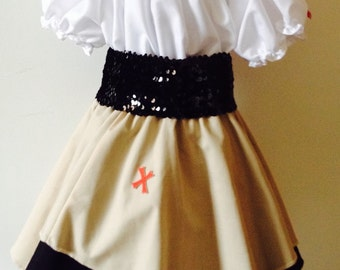 Pirate Toddler Dress 4T