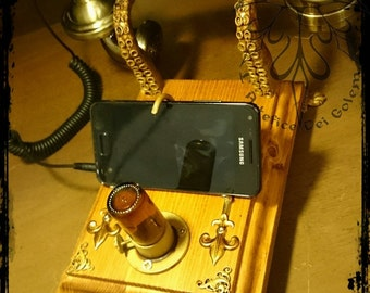 Steampunk Cell Phone Holder