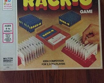 Vintage 1978 Milton Bradley Racko Game