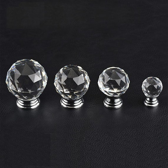 glass knobs clear crystal knob drawer knobs dresser. Black Bedroom Furniture Sets. Home Design Ideas