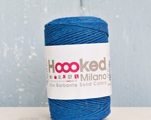 Barbante eco yarn, blue