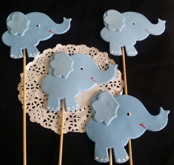 elephant baby shower decorations blue elephant favors elephant baby