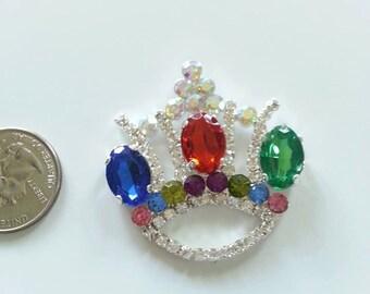 Very Sparkly Crown Needle Minder