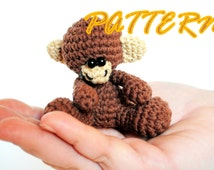 Instant Download Amigurumi Crochet Pattern - Amigurumi Monkey Pattern - Monkey Doll Crochet Pattern - Crochet Toy Pattern - Soft Toy Pattern