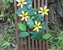 Whimsical Sunflower Wall Art