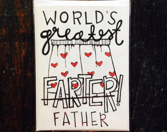 World's Greatest Farther Father's Day Card