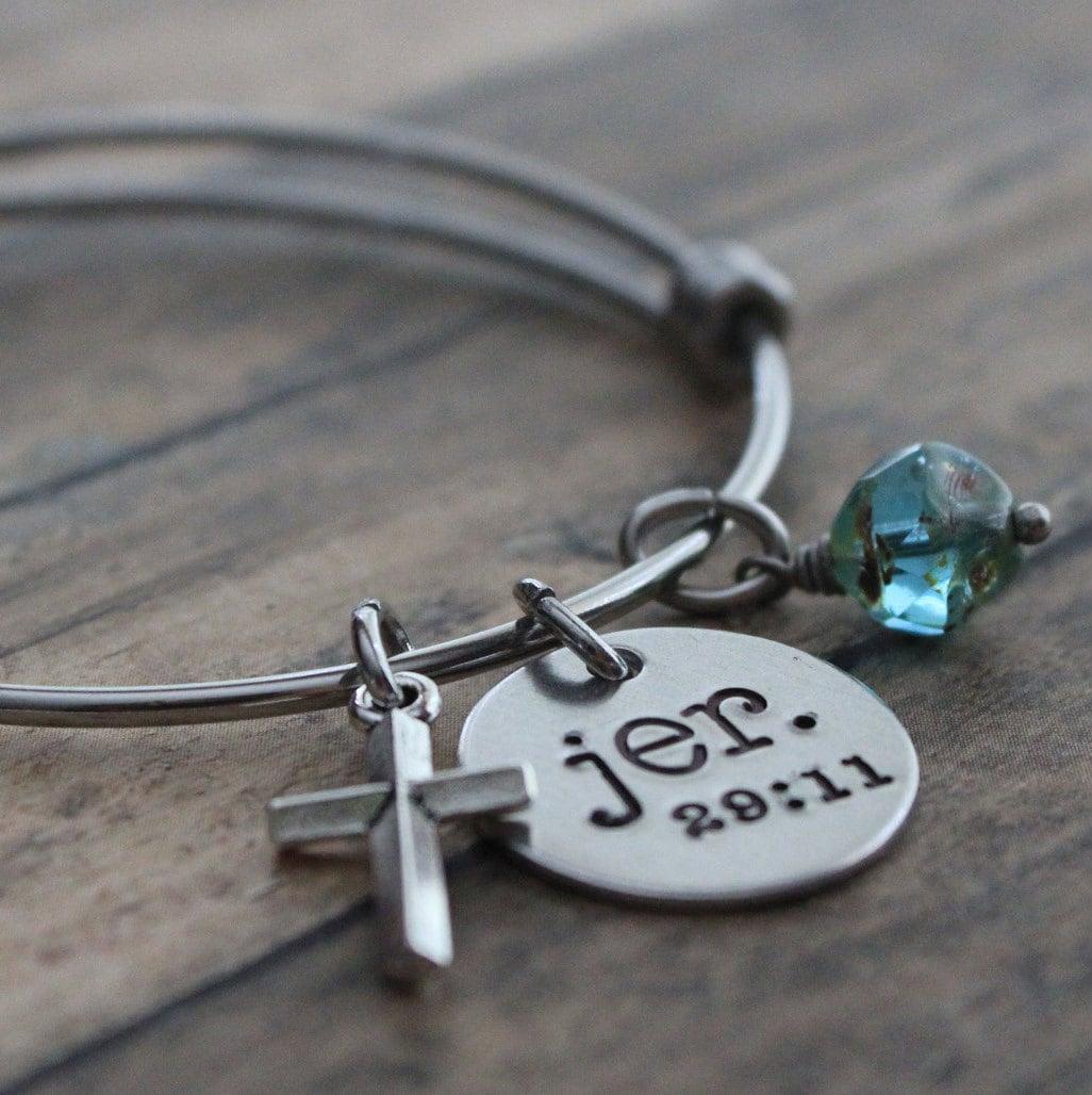 jeremiah 29 11 bracelet custom scripture bracelet scripture