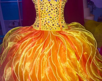 Quinceanera Dress by Hollywood Hills Latina - HHLatina. Beautiful Custom Design Quinceanera Dress