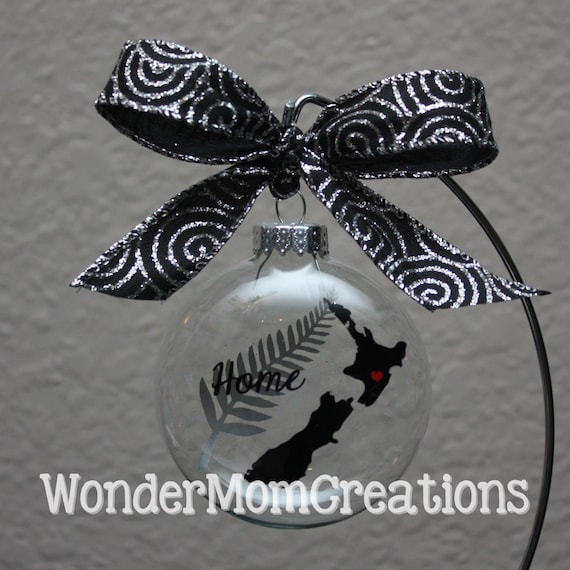 New Zealand Christmas Ornament New Zealand By