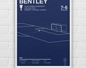 Daniel Bentley vs Wycombe Wanderers Giclee Print