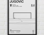 Vladimir Jugović vs Ajax Giclee Print