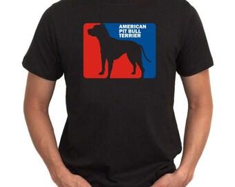 American Pit Bull Terrier Sports Logo T-Shirt