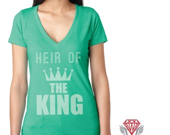 Heir of the King Triblend V-Neck Tee