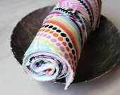 Travel Changing Pad, Tribal Fabric, Multi Colored, Baby Play Mat, Diaper Changing Pad