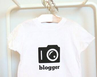 Blogger / Camera / short sleeve t-shirt / tee shirt / shirt / fashion / SALE / ready to ship