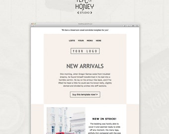 Mailchimp email template sales responsive html email modern for Mailchimp templates free download