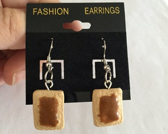 Toaster Pastry Earrings!