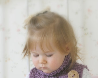 KNITTING PATTERN  Alex cowl (baby, toddler, child sizes)