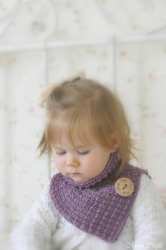KNITTING PATTERN  collar /cowl / neck warmer Alex (baby, toddler, child, woman sizes)