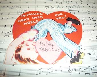 Head Over Heels For You Vintage 1940s Carrington Valentine