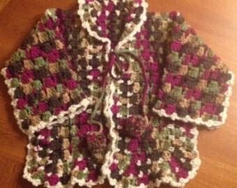 12-24 month Pom Pom Sweater