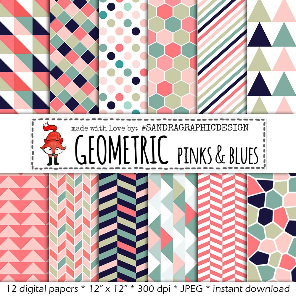 11+ Dark Pink Patterns Digital Paper DXF