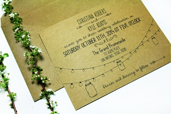 Wedding Invitations Sizes: Editable Wedding Invitation A2 Size Landscape By