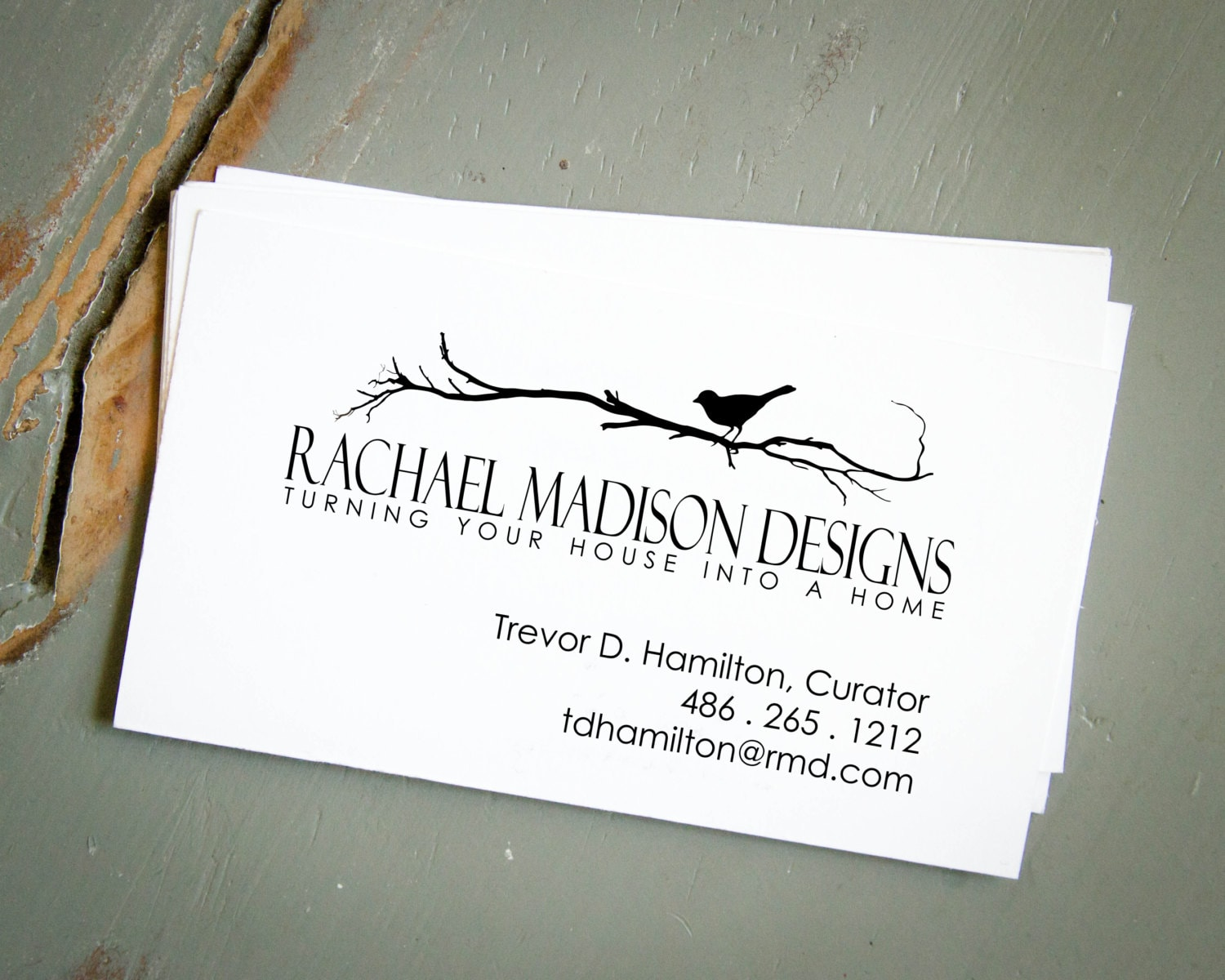 Pre-Inked Business Card Stamp, Personalized Stamp, Custom Stamp ...