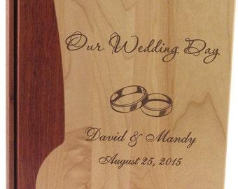 Wood Photo Album - Wedding