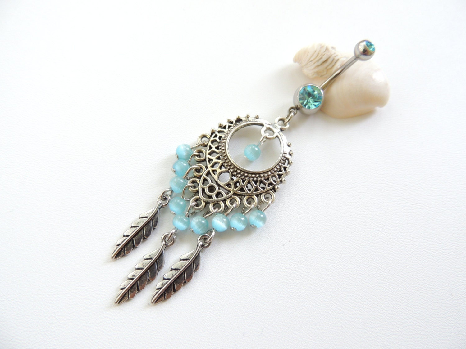 boho belly ring belly button jewelry by