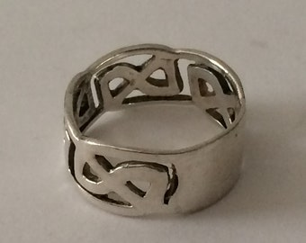 Size 5.5 Sterling Silver Filigree Ring