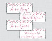 Pink and Gray Printable C...