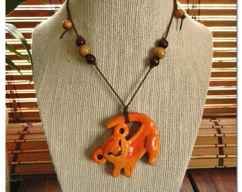 Simba Necklace Lion King Inspired