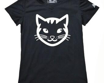 Women's Cat Running Shirt