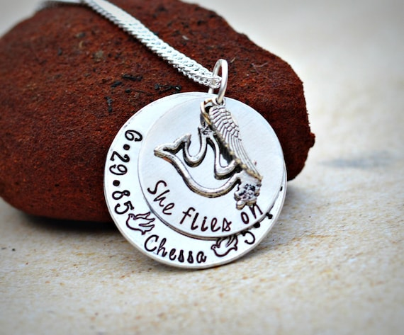 in loving memory jewelry heel lilies memorial necklace in loving memory sympathy gift 4458