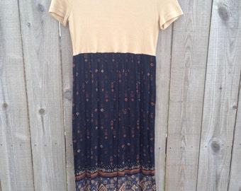 Vintage 90's Petite Maxi Dress