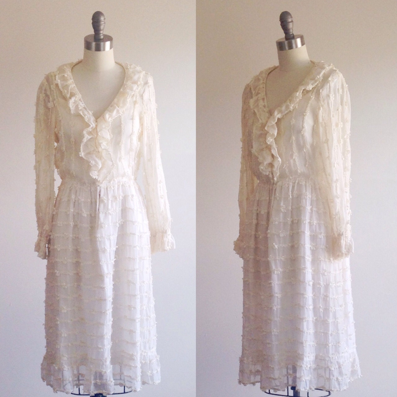 Simple Wedding Dress Ivory Wedding Dress Casual Wedding